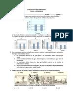 EVALUACION FINAL DE BIOLOGIA 6° periodo I 2018