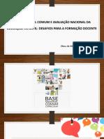Apresentação Sobre BNCC Educação Infantil