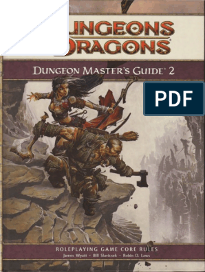 4e D&D Dungeon Master's Guide 2 | Wizards Of The Coast