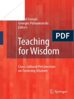 Trevor Curnow (Auth.), Michel Ferrari, Georges Potworowski (Eds.) - Teaching for Wisdom_ Cross-cultural Perspectives on Fostering Wisdom (2009, Springer Netherlands)