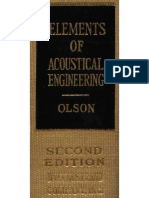 H OLSON Elements of Acoustical Engineering