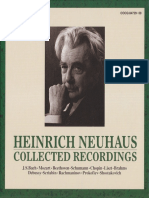 Heinrich Neuhaus - Collected Recordings