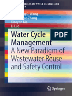 Water Cycle Management_ a New Paradigm of Wastewater Reuse and Safety Control