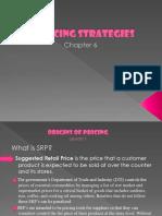 Pricing Strategies MARKETING