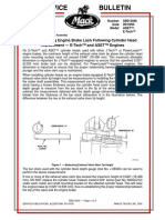Measuring Exhaust Valve