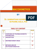 3. PHARMACOKINETICS