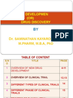 6. New Drug Development