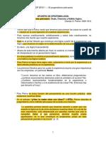 Apuntes Epistemología