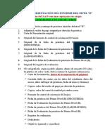 Modelo Informe de Practicas Nivel b - Modificado