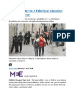 Tear gas and terror  A Palestinian education under occupation.docx