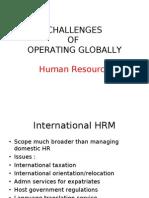 Importance of Global Human Resource