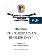 Proposal for English Day Smkk