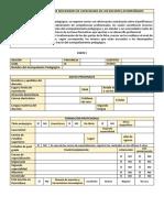 Ficha de Perfil Básico y de Necesidades de Capacidades de Los Docentes Acompañados