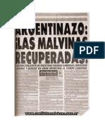 Tapas Malvinas