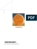 Sociology for Samkalp (2)