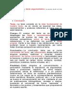 Ejemplos de Textos Argumentativos.