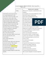 Sequeira, Traducción 1