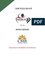 Design Report (Tema Vulcan GT)