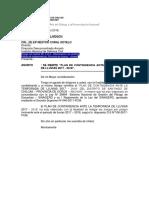 OFICIO CHILCAS