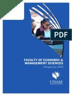 Faculty of Economic Managment Sciences Prospectus 2018 6