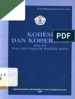 Kohesi Dan Koherensi Dlm Wacana Naratif Bahasa Jawa