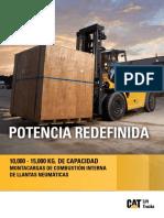 Brochure - Catalogo Fl.t - Dp100nm-Dp120nm - Dp135nm - Dp150nm - 10tn. - 15tn.(Español)