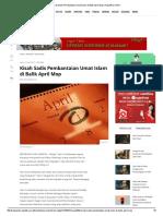 Kisah Sadis Pembantaian Umat Islam Di Balik April Mop _ Republika Online