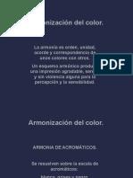Armonizacion Del Color