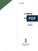 Gramsci, Antonio -La Formacion de Los Intelectuales