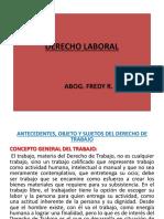 DIAPOSITIVAS DERECHO LABORAL I