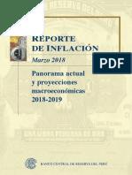 Reporte de Inflacion Marzo 2018