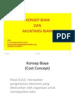 Konsep Biaya Dan ABC Dan Abm