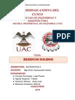 Informe de ResSolidos