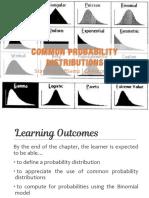 2.3 Probability Distributions