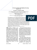 Predictors of Outcome in Patients With Diphtheria Receiving Intensive Care