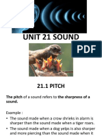 Unit 21. Sound (source