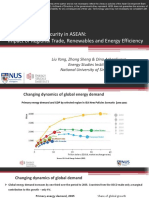 Towards Energy Security in ASEAN