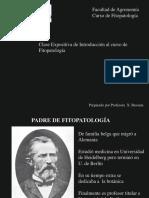 Introducción Historia de la Fitopatología 2017
