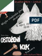 Obtoženi volk - otroška gledališka predstava