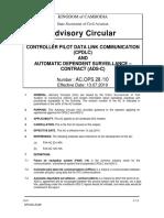 Ac 28-Controller Pilot Data Link Communication (Cpdlc)