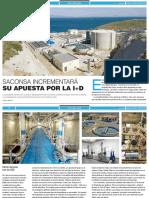 """""""Saconsa incrementará su apuesta por la I+D"""""""