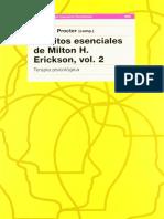 Escritos Esenciales de Milton H Erickson Vol 2
