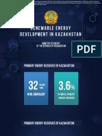 Renewable Energy Development in Kazakhstan - English