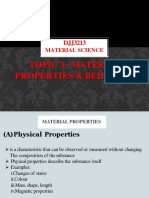 Chapter 3-Material-Properties & Behaviour