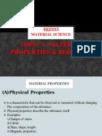 Chapter 3-Material-Properties & Behaviour