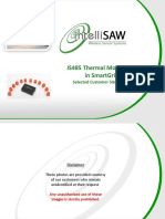 IntelliSAW IS485 Thermal Monitoring in SmartGrid 20120925 Selected Photos