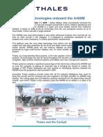Thales A400M Press Kit 151209