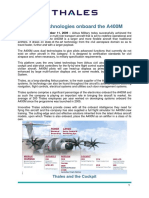 Thales A400M Press Kit 151209