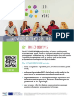 ICT4YOUTHWORK - Project flyer