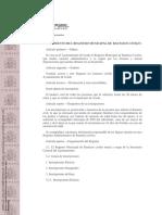 Reglamento Del Registro Municipal de Bautizos Civiles